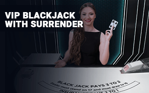 VIP Blackjack with Surrender